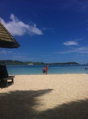 Plantation Island Resort: On the beach at Plantation Island