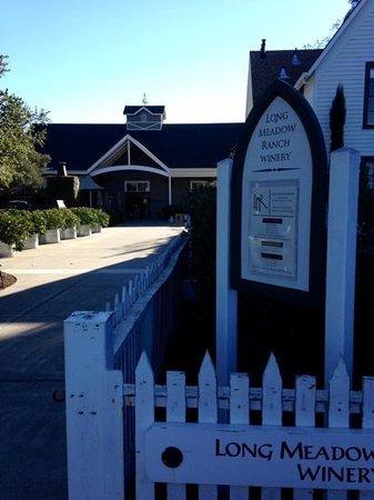 Farmstead at Long Meadow Ranch : farmstead Restaurant Entrance