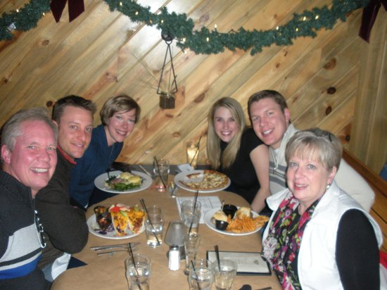 Altitude Chophouse and Brewery : Dinner with the fam, thanks to our waiter