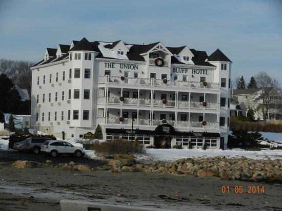 Union Bluff Hotel: hotel front