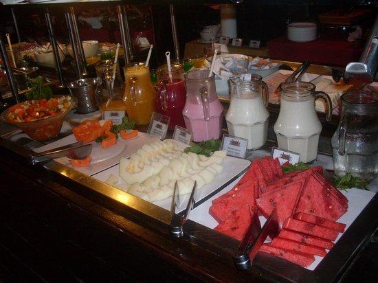 Mar Ipanema Hotel: Los deliciosos desayunos...