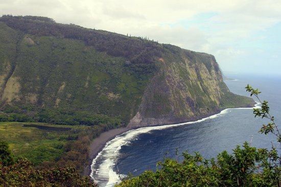 Waipi'o Valley : View from the lookout