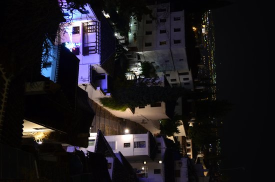 Solar Montes Claros: Granada at night from our Balcany
