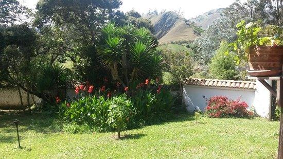 Hacienda Baza Hotel: Vista desde los balcones de la hermosa Hacienda Baza