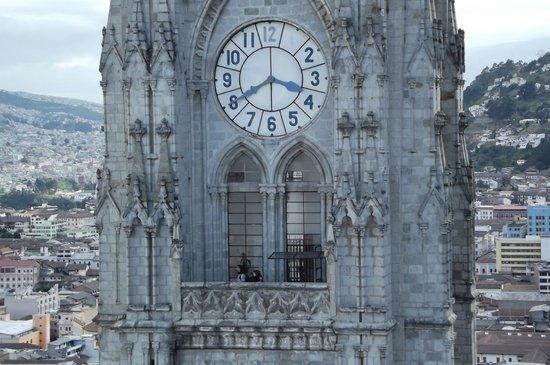 Basílica: Mirante torre do relogio