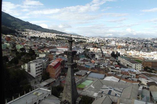 Basílica: Vista da cidade desde o topo da Basilica