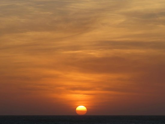 Duna do Por do Sol : Pôr-do-sol em Jericoacoara