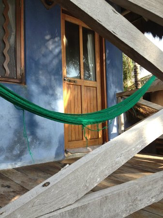 Hotel CalaLuna Tulum: Our balcony
