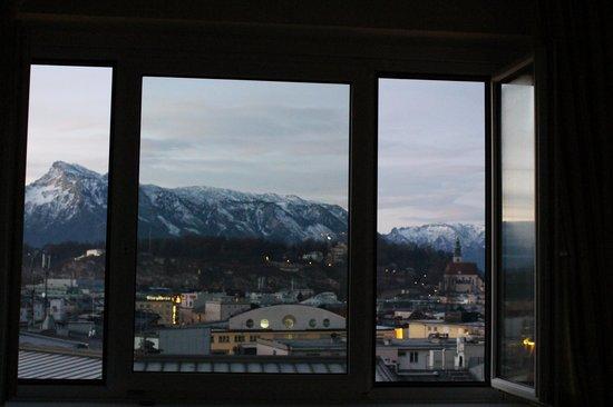 Austria Trend Hotel Europa Salzburg: View