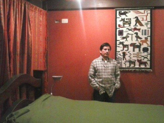 El Arupo: Esta es la habitacion donde me hospede.