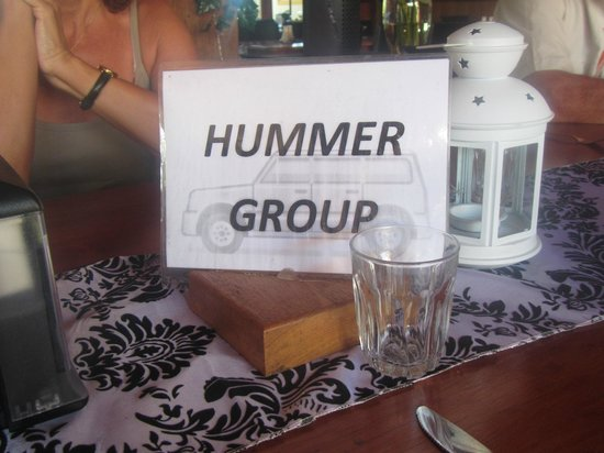 Hummer Safari 4WD Adventure Day Tours : lunch