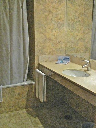 HCC Montblanc: Large bathroom with hair dryer