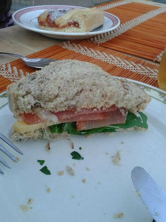 La Bendita: Wooowwww Sandwich home made!!!