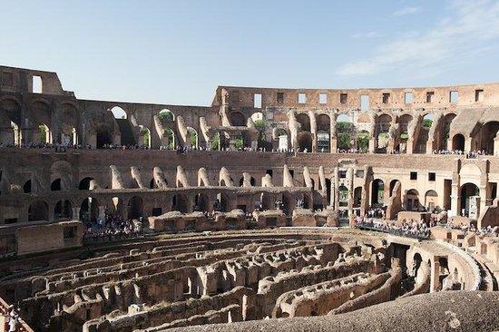 City Wonders: Interior of the Coliseum