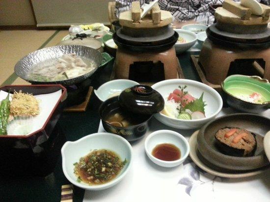 Hotel Senkei: Dinner