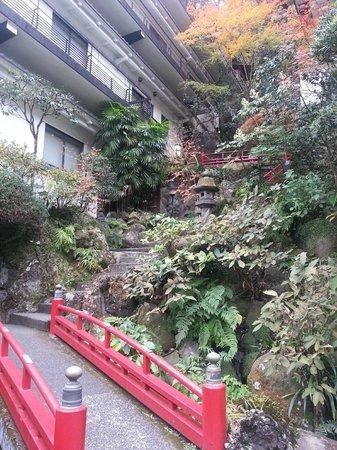 Hotel Senkei: Outside the hotel