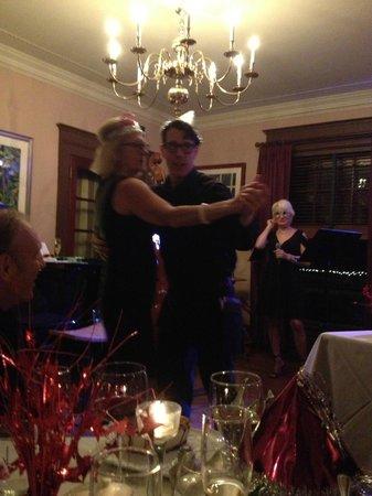 The Gateways Inn & Restaurant : Michael, wait staff and in house dancer