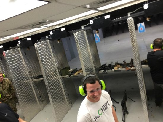 Battlefield Vegas : Look at the clean range!!