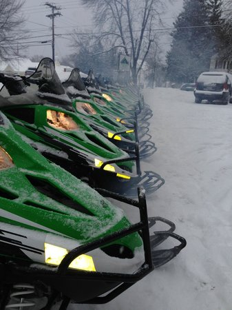 Northeast Snowmobile and ATV Rentals: 2014 sleds