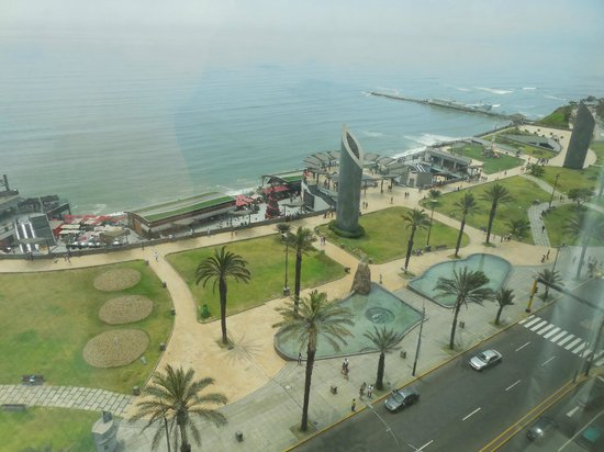 Jw Marriott Hotel Lima View From Our Room On 10th Floor Of Park Beach