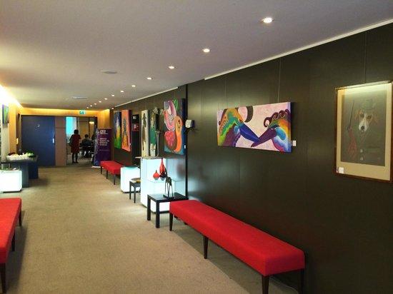 Resort Bad Boekelo: 会議室前の廊下