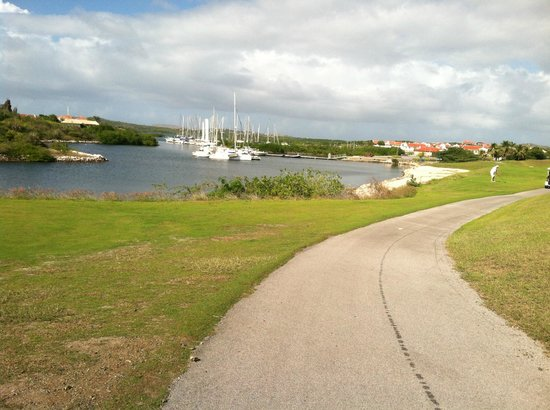 Old Quarry Golf Course: Marina views come into play on a few holes but not many water hazards to contend with