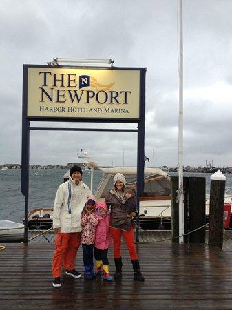 Newport Harbor Hotel & Marina: Marina