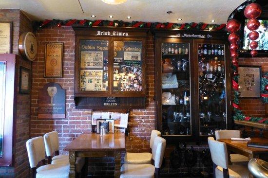 Dublin Square Pub: Homey atmosphere