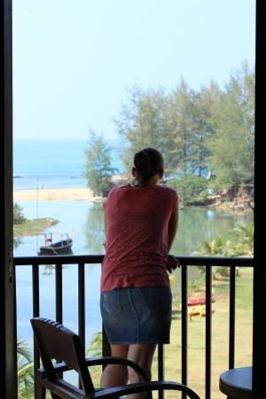 Khao Lak Riverside Resort & Spa : View from balcony room 301