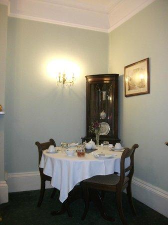 Emsley Guest House : Breakfast Room