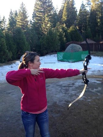 Tenaya Lodge at Yosemite: Archery