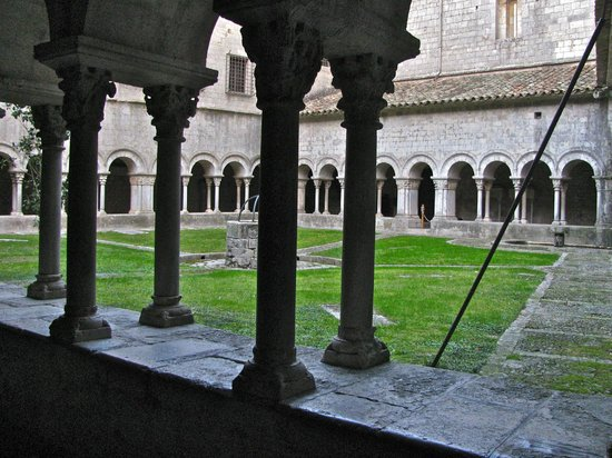 Girona Cathedral (Catedral): The cloister