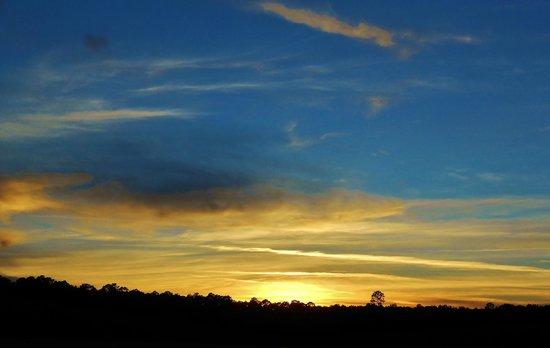 Bushnell Bed and Breakfast: Sunset Over Bushnell B & B