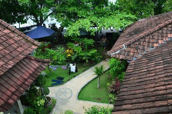 Blue Star - Bali : Vista desde habitación.