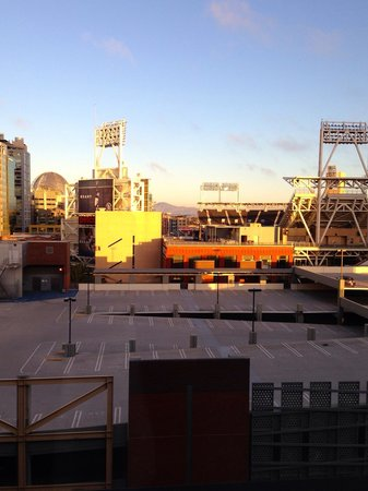 Hard Rock Hotel San Diego: View from the 10th floor