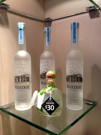Hard Rock Hotel San Diego: Larger bottles for purchase in room