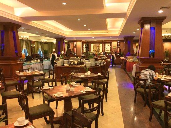Prince D'Angkor Hotel & Spa: 朝食ビュッフェ