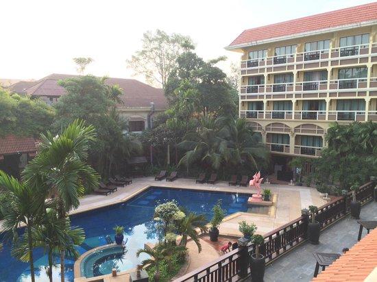 Prince D'Angkor Hotel & Spa: 部屋からの眺め