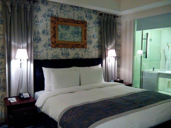 Grand Victoria Hotel : 很有英國風情的房間設計