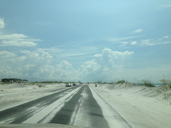 Gulf Islands National Seashore - Florida District: Awesome drive