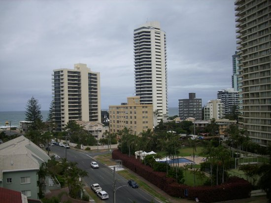 The Crest Apartments: View from balcony Level 6