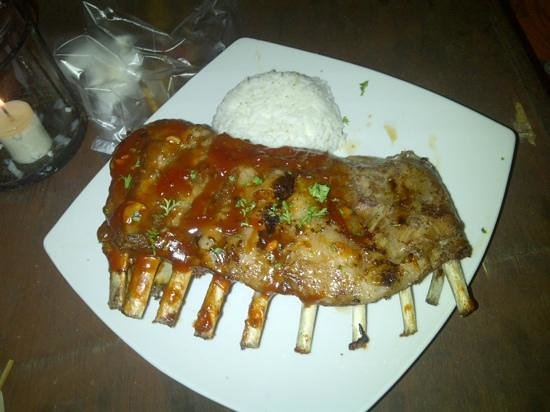 Scallywags Seafood Bar & Grill : Yummy Ribs