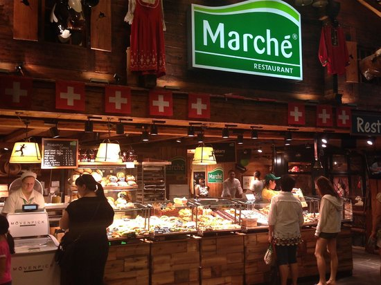 Marche Restaurant : The take-out bakery counter