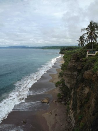 Tango Mar Beachfront Boutique Hotel & Villas : view from lookout point