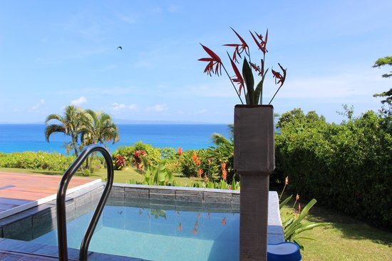 Makaira Resort : View from the Ocean View Villa with the pool