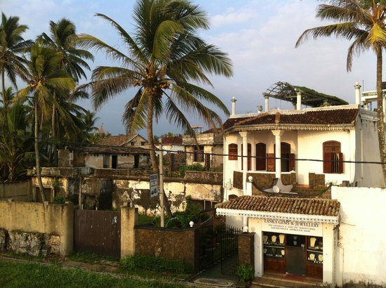 Colonial Architecture at Galle Fort