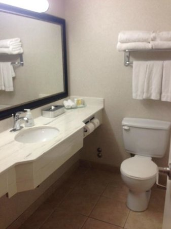 Bathroom room 345 Victoria Inn  |  1808 Wellington Ave, Winnipeg, Manitoba