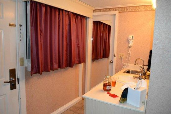 Zoders Inn & Suites: Sink area