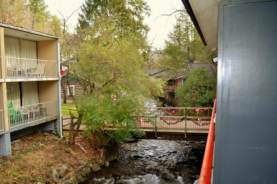Zoders Inn & Suites: View from balcony