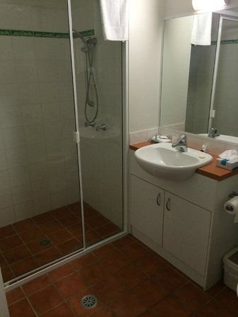 The Brighton: HUGE shower in 2nd bedroom apt